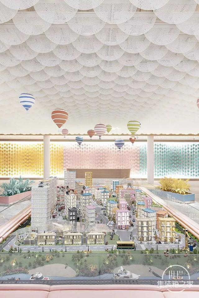 建筑师用上万块积木搭沙盘,做了一个从童话里走出来的售楼中心-4.jpg