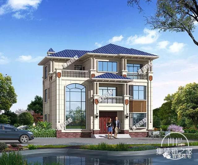 面宽12米的两栋农村自建房,30万就能让你实现别墅梦-1.jpg