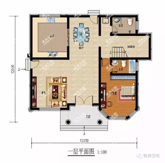 面宽12米的两栋农村自建房,30万就能让你实现别墅梦-6.jpg