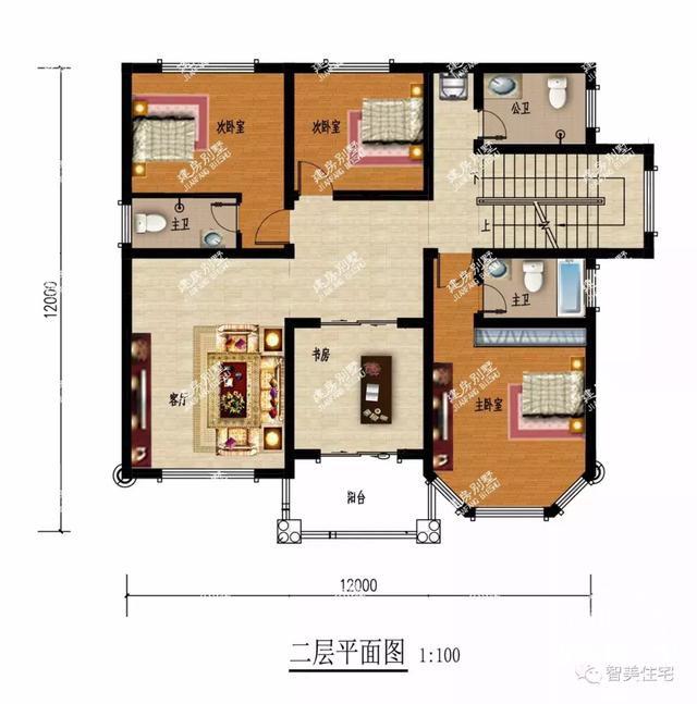 面宽12米的两栋农村自建房,30万就能让你实现别墅梦-7.jpg