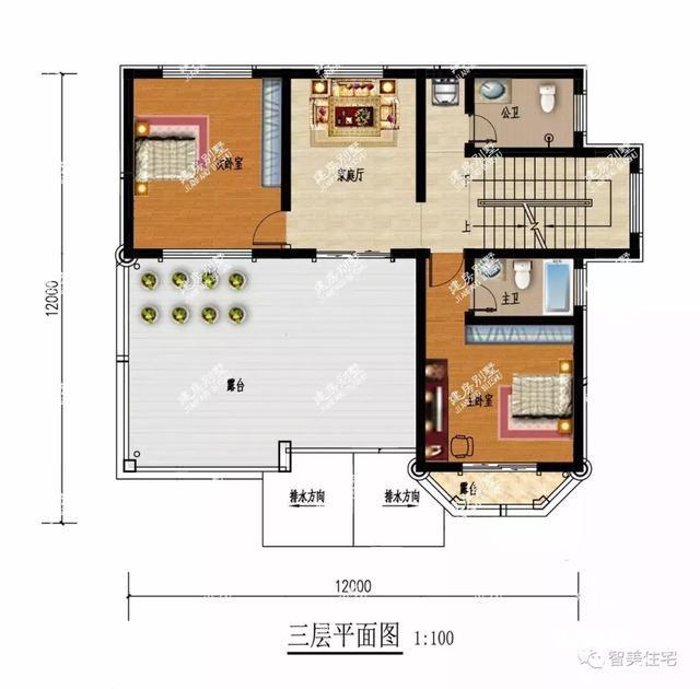 面宽12米的两栋农村自建房,30万就能让你实现别墅梦-8.jpg