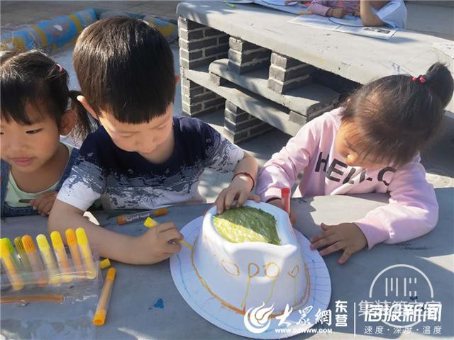 """稻庄镇西水幼儿园中二班开展""""创意涂鸦""""活动-3.jpg"""