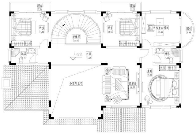 二层别墅欧式别墅设计图纸-3.jpg