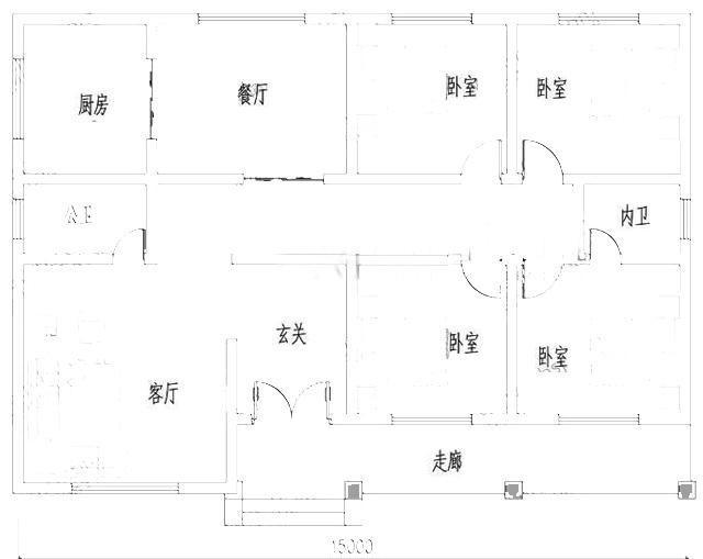 精致一层农村自建别墅设计图,布局合理,造价20万以内-2.jpg