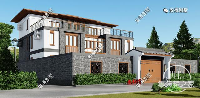 5款精美的中式别墅设计,新颖大气、实用舒适,效果图+平面图-3.jpg