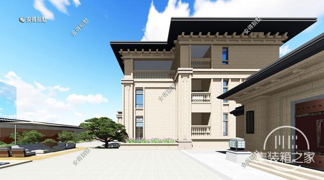 5款精美的中式别墅设计,新颖大气、实用舒适,效果图+平面图-11.jpg