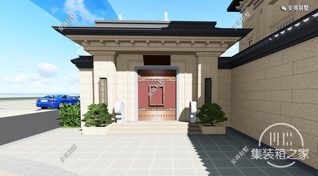 5款精美的中式别墅设计,新颖大气、实用舒适,效果图+平面图-12.jpg