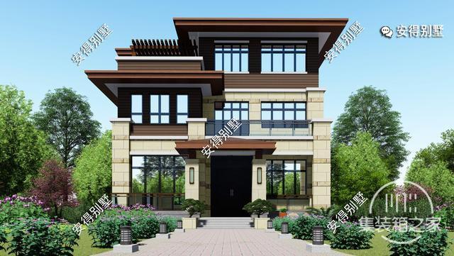 5款精美的中式别墅设计,新颖大气、实用舒适,效果图+平面图-16.jpg