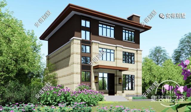 5款精美的中式别墅设计,新颖大气、实用舒适,效果图+平面图-18.jpg