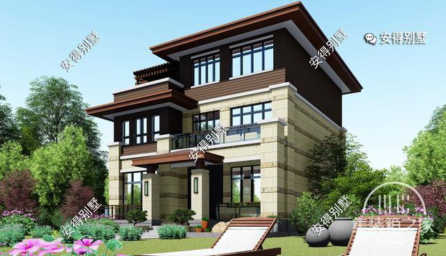 5款精美的中式别墅设计,新颖大气、实用舒适,效果图+平面图-17.jpg
