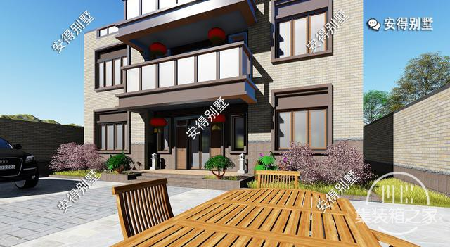 5款精美的中式别墅设计,新颖大气、实用舒适,效果图+平面图-25.jpg