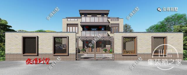 5款精美的中式别墅设计,新颖大气、实用舒适,效果图+平面图-22.jpg
