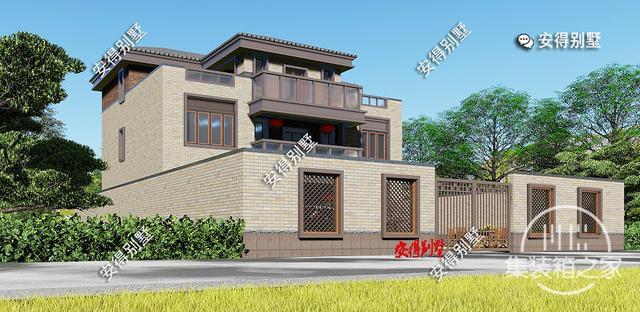5款精美的中式别墅设计,新颖大气、实用舒适,效果图+平面图-23.jpg