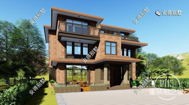 5款精美的中式别墅设计,新颖大气、实用舒适,效果图+平面图-29.jpg