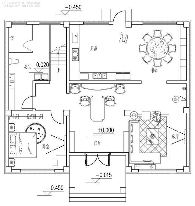 农村高档自建欧式别墅设计图纸-3.jpg