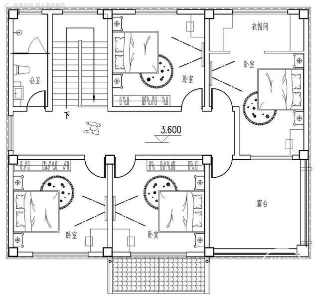 农村高档自建欧式别墅设计图纸-4.jpg