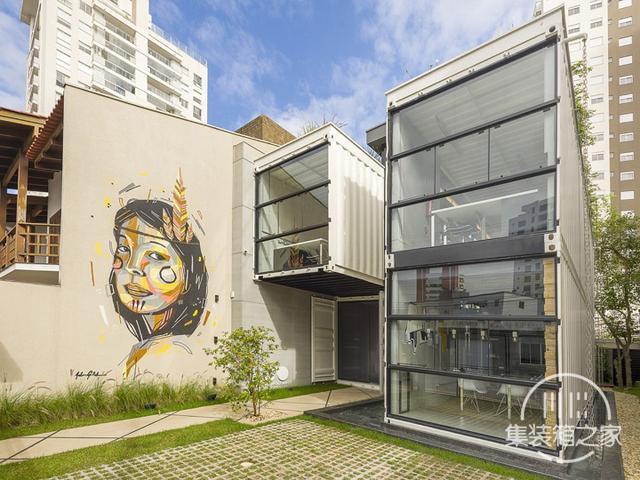 酷炫工业风 模块与美学并存的巴西集装箱可持续办公建筑设计欣赏-4.jpg