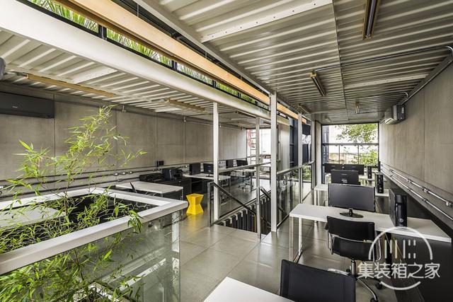 酷炫工业风 模块与美学并存的巴西集装箱可持续办公建筑设计欣赏-8.jpg