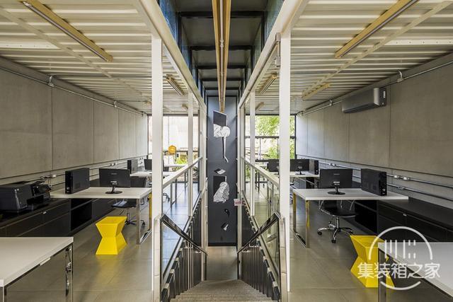 酷炫工业风 模块与美学并存的巴西集装箱可持续办公建筑设计欣赏-7.jpg