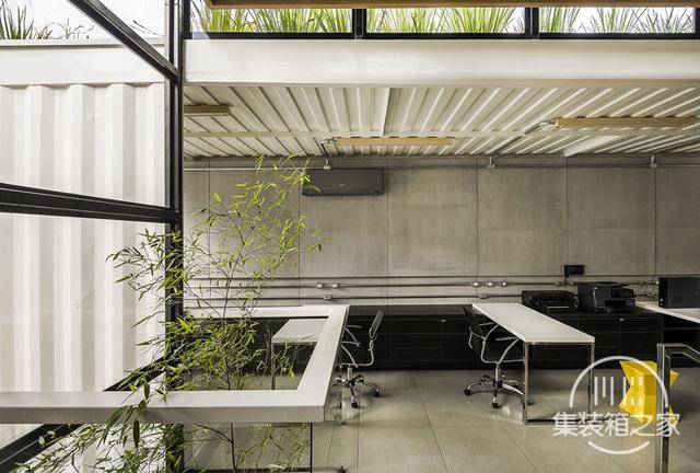 酷炫工业风 模块与美学并存的巴西集装箱可持续办公建筑设计欣赏-9.jpg