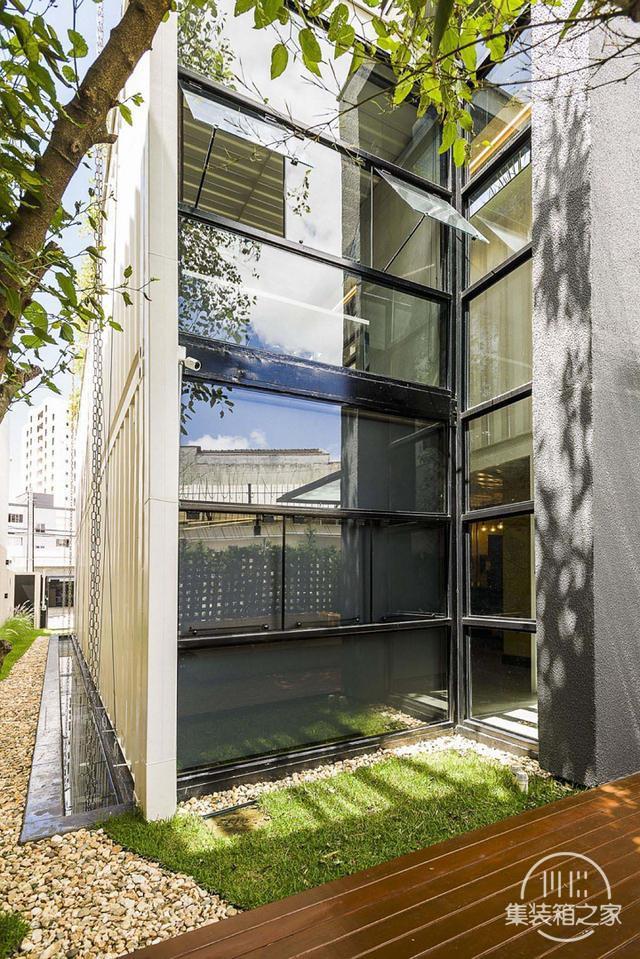 酷炫工业风 模块与美学并存的巴西集装箱可持续办公建筑设计欣赏-5.jpg