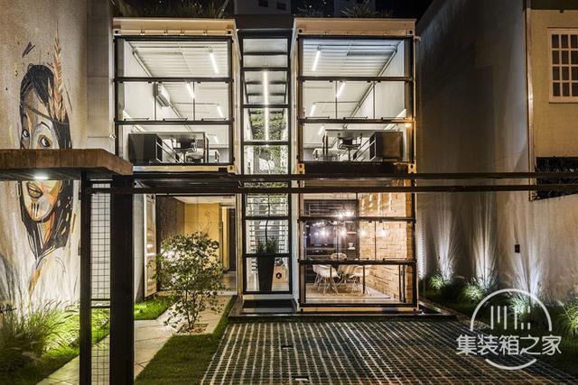 酷炫工业风 模块与美学并存的巴西集装箱可持续办公建筑设计欣赏-6.jpg