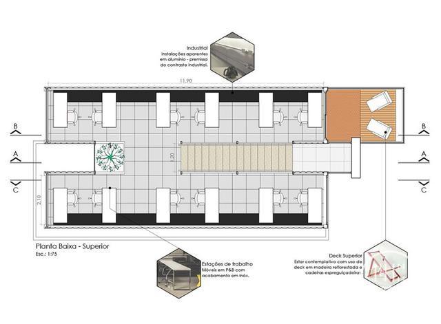 酷炫工业风 模块与美学并存的巴西集装箱可持续办公建筑设计欣赏-22.jpg