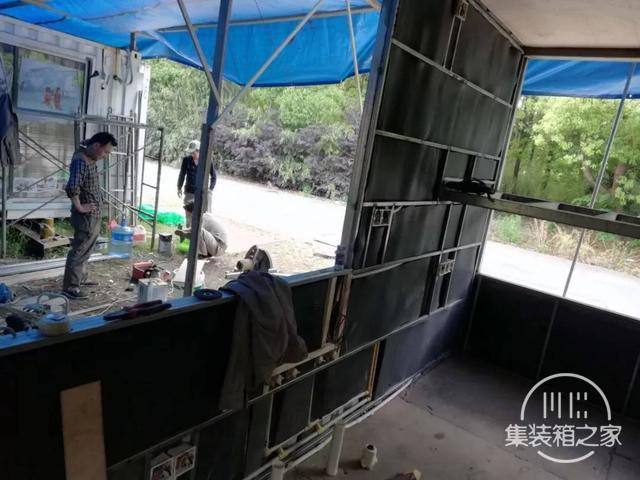 他用一个月时间,将6米集装箱改成惬意小屋,厨卫齐全还有地暖-9.jpg