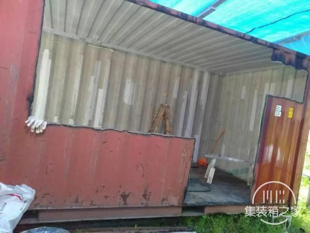 他用一个月时间,将6米集装箱改成惬意小屋,厨卫齐全还有地暖-6.jpg