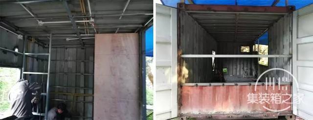 他用一个月时间,将6米集装箱改成惬意小屋,厨卫齐全还有地暖-8.jpg