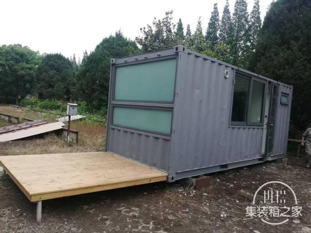 他用一个月时间,将6米集装箱改成惬意小屋,厨卫齐全还有地暖-14.jpg