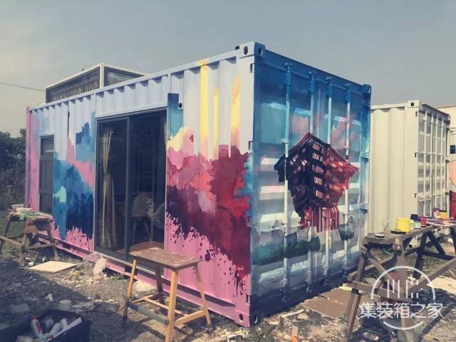 他用一个月时间,将6米集装箱改成惬意小屋,厨卫齐全还有地暖-16.jpg