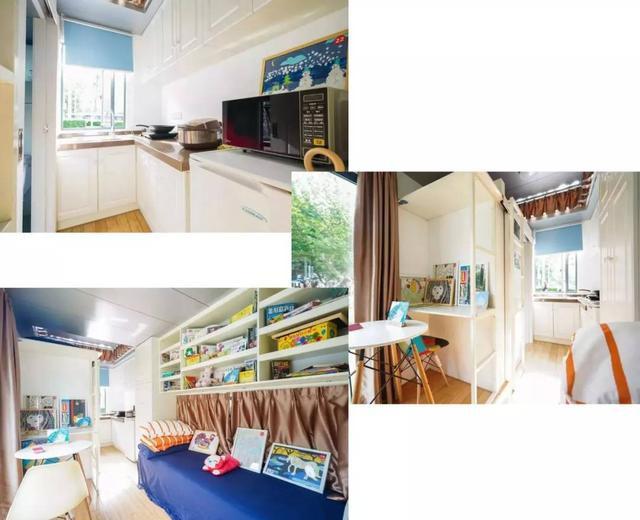 他用一个月时间,将6米集装箱改成惬意小屋,厨卫齐全还有地暖-20.jpg