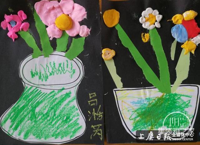 鹤琴幼儿园小小班开展创意美工班活动-1.jpg