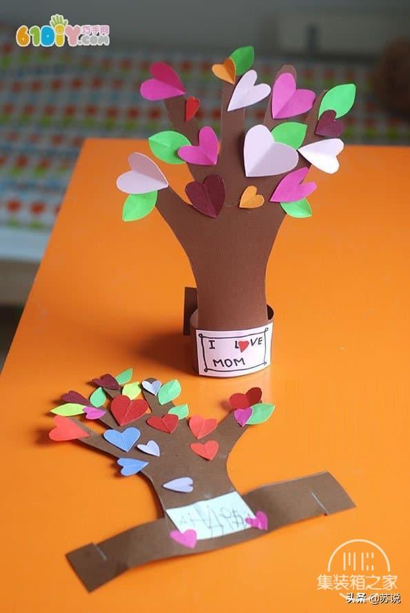 创意幼儿园儿童手工DIY五指树,纸艺教程,宝妈幼师文案亲子必备-6.jpg