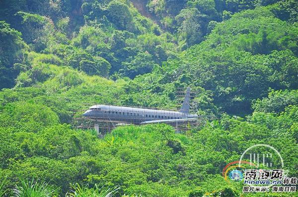 住在飞机里!儋州飞机酒店积极建设中 将设置4间-5间套房-1.jpg