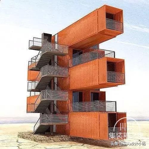 房子太贵?那就造个集装箱豪宅吧,太有想象力了!!-4.jpg