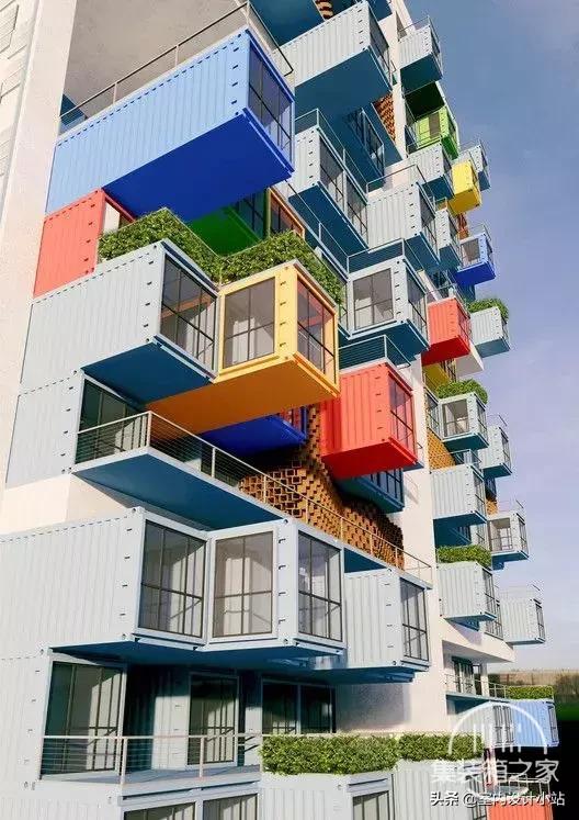 房子太贵?那就造个集装箱豪宅吧,太有想象力了!!-10.jpg