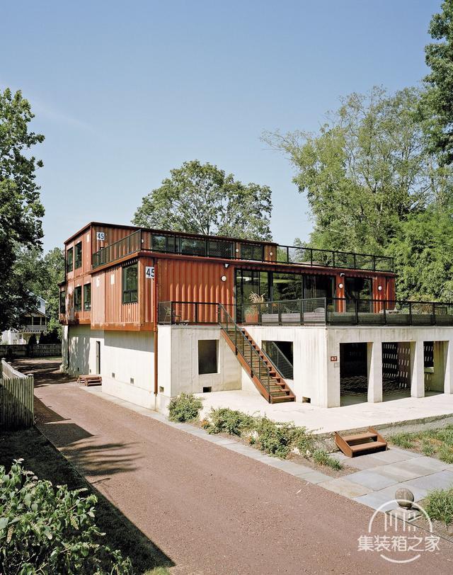 现代化模块化建筑 集装箱房屋建筑的惊人例子-3.jpg