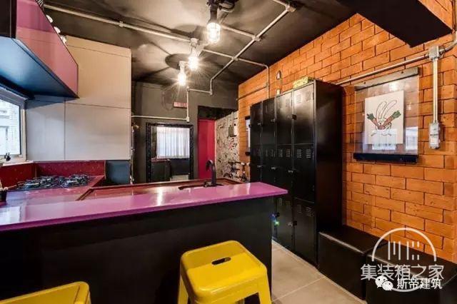 集装箱住宅 | 工业风格的房子也能这么多彩-8.jpg