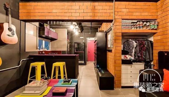 集装箱住宅 | 工业风格的房子也能这么多彩-10.jpg