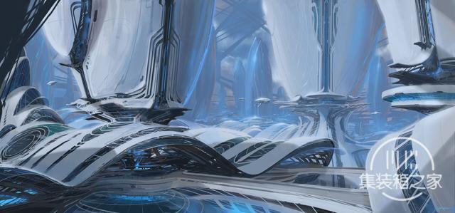 一组幻想与蒸汽朋克概念CG艺术插画作品-1.jpg