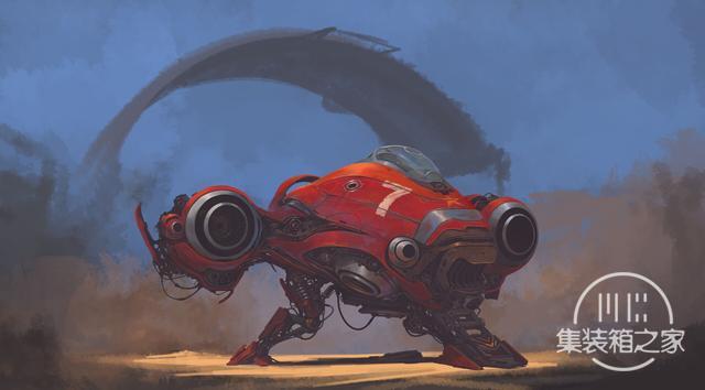 一组幻想与蒸汽朋克概念CG艺术插画作品-4.jpg