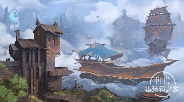 一组幻想与蒸汽朋克概念CG艺术插画作品-6.jpg