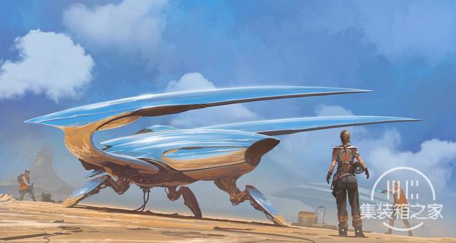 一组幻想与蒸汽朋克概念CG艺术插画作品-7.jpg