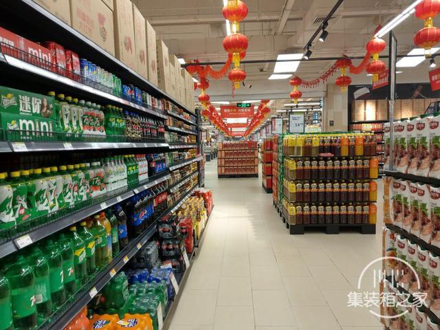 变幻莫测,蓬安永辉超市开业几天后的人流场景,真是变幻莫测啊-4.jpg