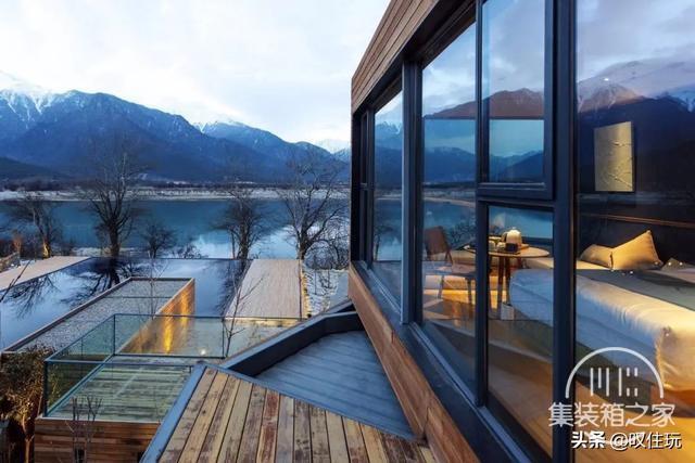 种草!雪山下的栖息地,工业风集装箱酒店,一百亩百年桃花围绕你-13.jpg