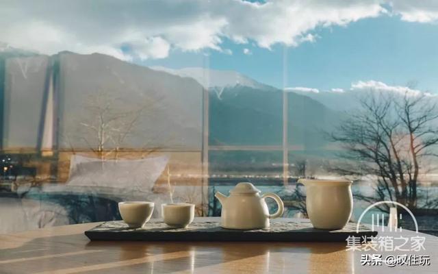 种草!雪山下的栖息地,工业风集装箱酒店,一百亩百年桃花围绕你-24.jpg