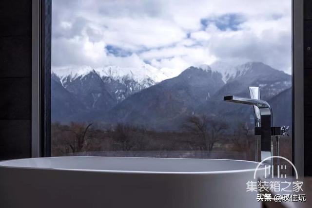 种草!雪山下的栖息地,工业风集装箱酒店,一百亩百年桃花围绕你-27.jpg
