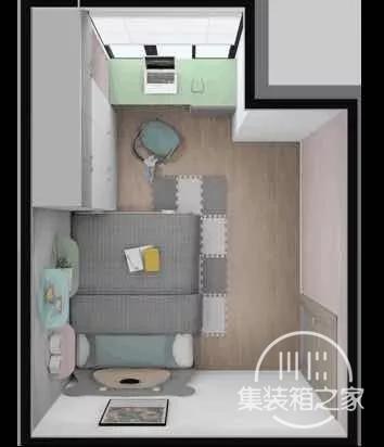 8.4㎡小房间,怎么变成客房、儿童房兼储藏室-1.jpg